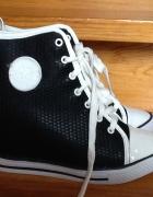 Sneakersy trampki na koturnie Vices Donna 40 czarn...