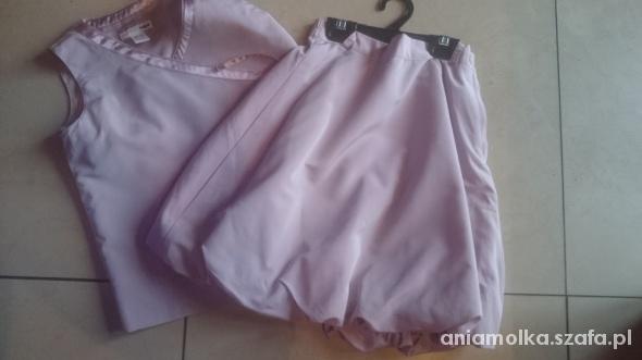 H&M komplecik dla dziewczynki 116 spódnica kamizel