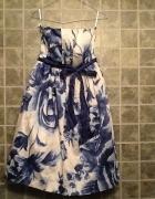 Sukienka w kwiaty atmosphere nowa 36 midi...