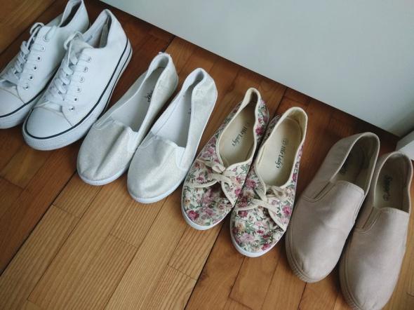 Zestaw butów 40 trampki tenisówki
