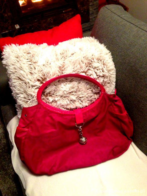 Różowa bag