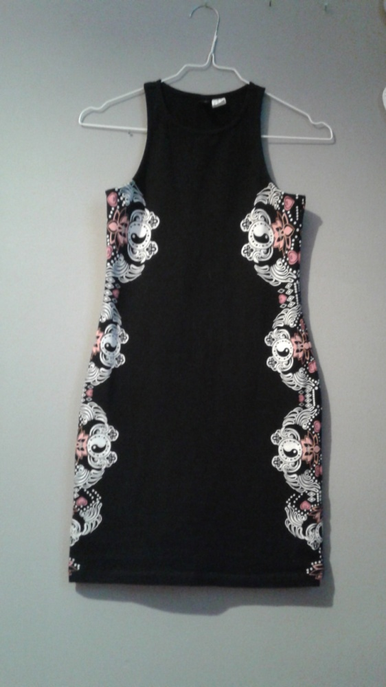 Tunika sukienka aztec czarna xs