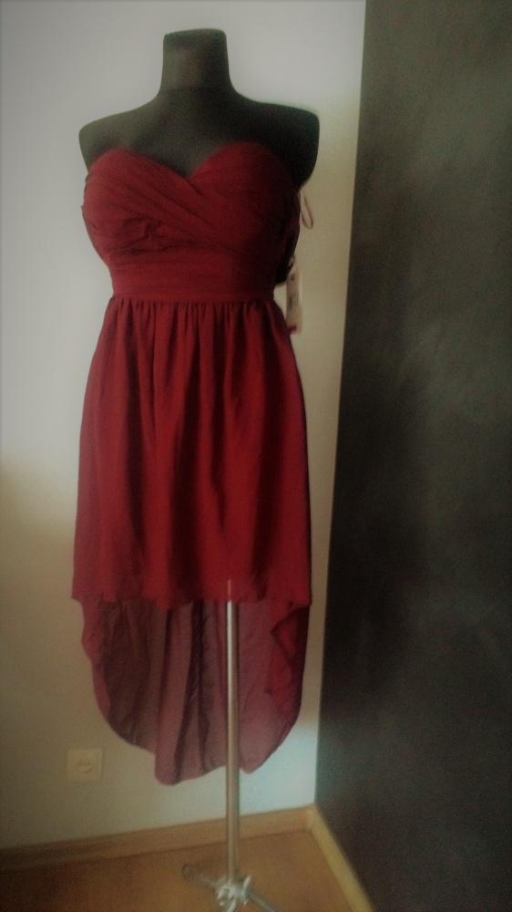 Sukienka asymetryczna...