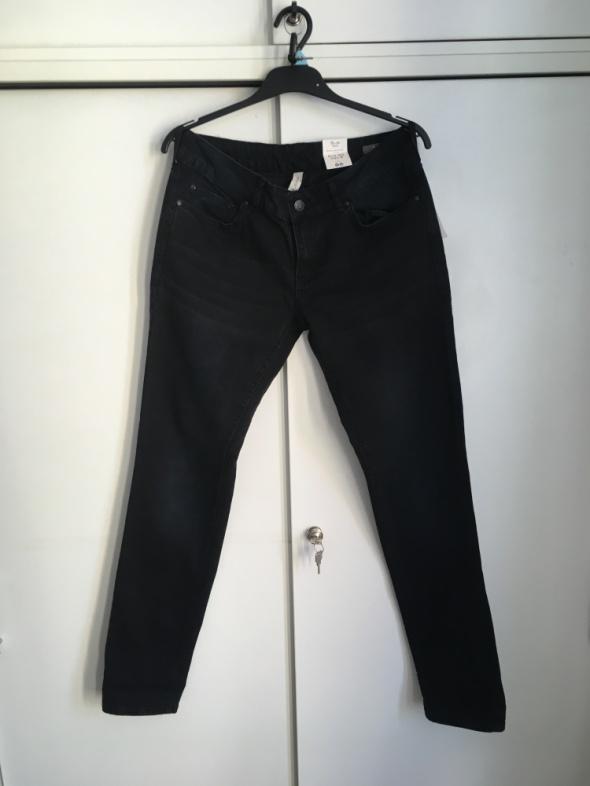 czarne jeansy nowe MANGO 40