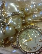 Piękna bransoletka z zegarkiem Elegancka...