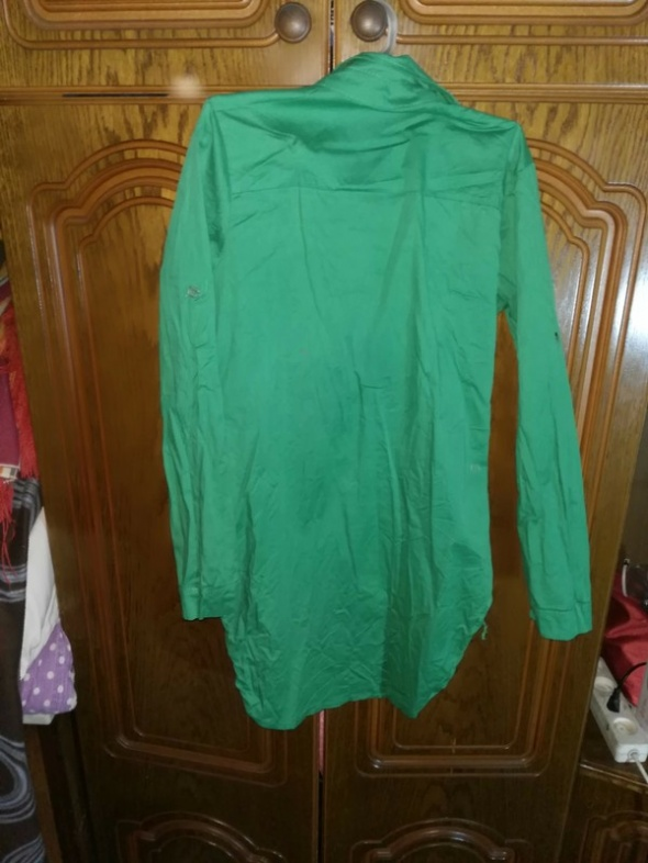 koszula zielone perly M