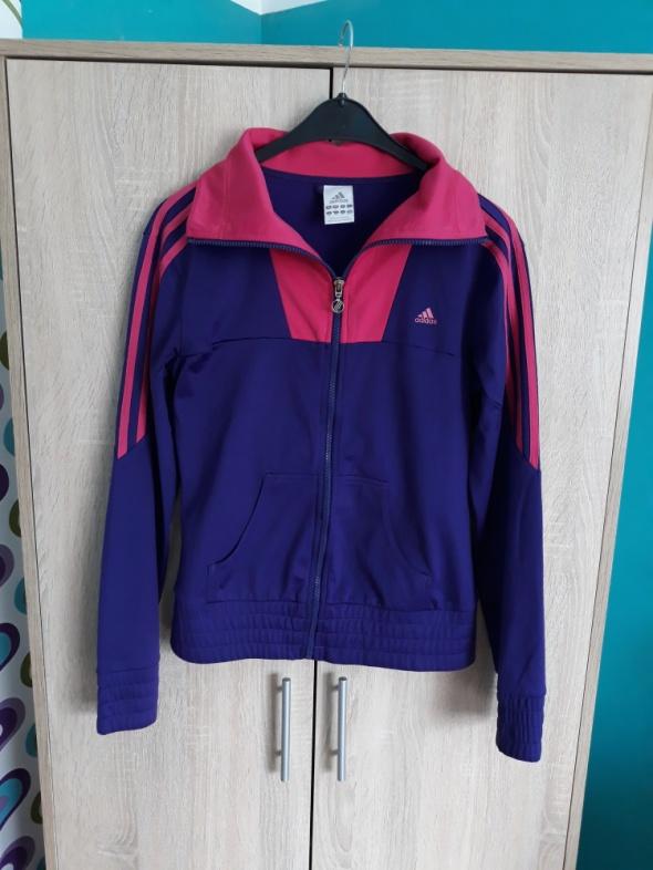 Jak nowa fioletowo różowa bluza adidas XS S M...