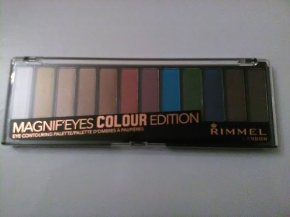 Rimmel Magnif eyes duża paleta cieni odcień 004 Colour Edition NOWA
