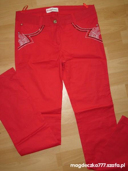 Spodnie Nowe cienkie rurki 38