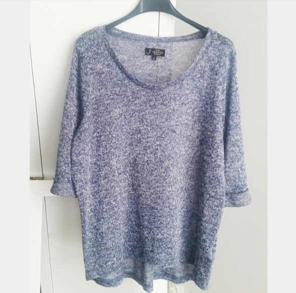 Niebieski sweterek oversize New Look melanz...