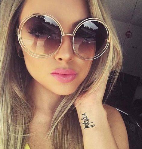 Okulary przeciwsłoneczne ombre wzór Chloe...