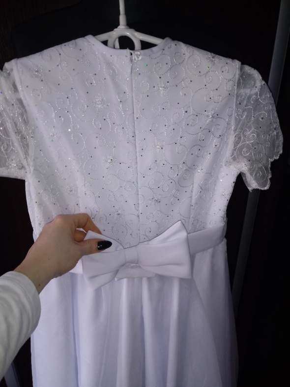 Suknia komunijna 140 torebka