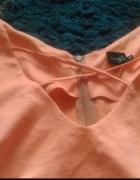 Pomarańczowa sukienka neon...