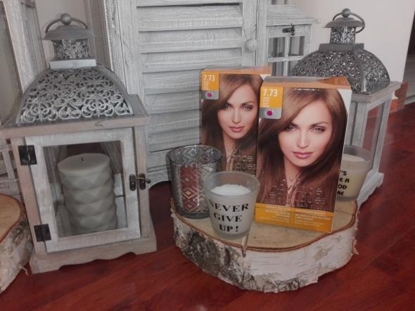 PROMOCJA 3 opakowania Farby do włosów czekoladowy brąz Avon Advance Techniques