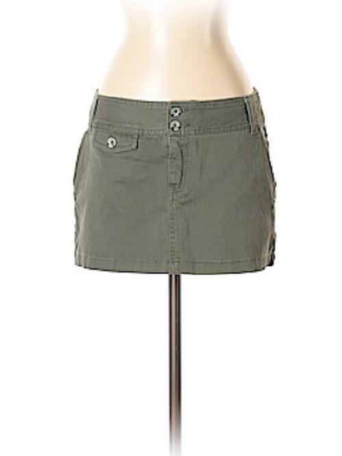 H&M spdnica spodniczka mini khaki 42 44 XL XXL