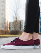 buty vans authentic bordowe...