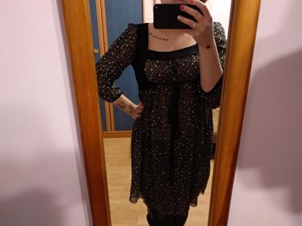Suknie i sukienki Sukienka boho vintage hippie kwiatki