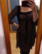 Sukienka boho vintage hippie kwiatki...