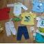 Nowy komplet wyprawka Spodnie dresowe Bluzeczka body półśpiochy 62 68