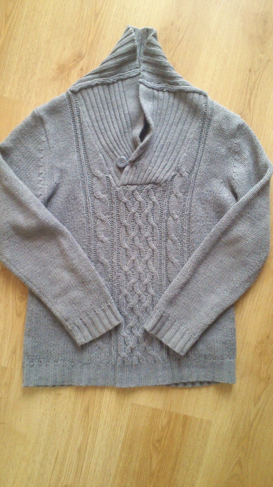 Swetry sweter szary M