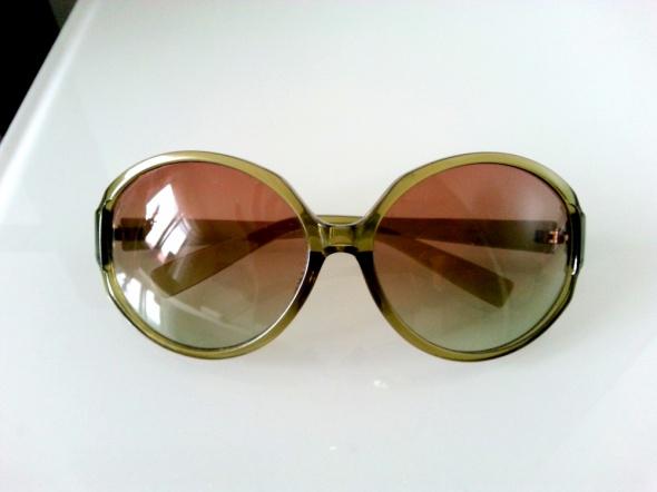 Okulary przeciwsłoneczne zielone mocny filtr