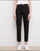 spodnie mom jeans...