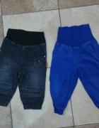 Super spodnie dla chłopczyka H&M 74 80...