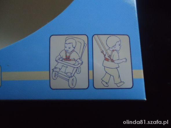 szelki do wózka lub nauki chodzenia