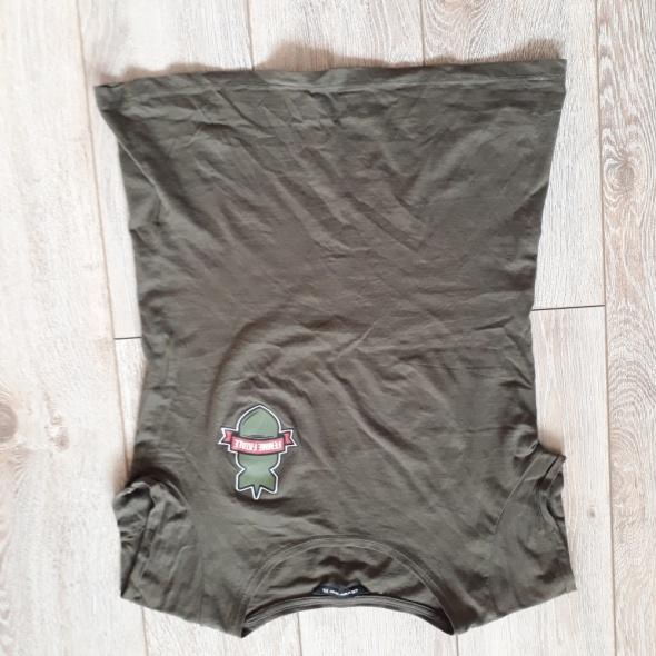 Koszulka krótki rękaw zgniła zieleń Diverse roz XS