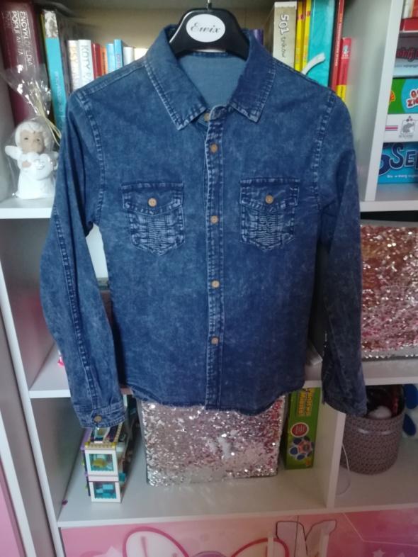 Nowa jeansowa koszula dla dziewczynki