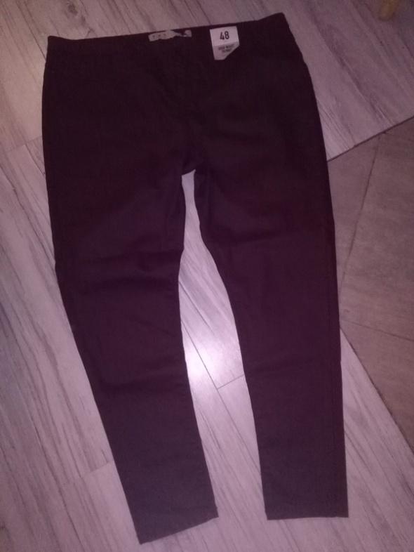 Nowe spodnie rurki śliwkowy kolor