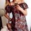 Sukienka Damska w ornamenty M...