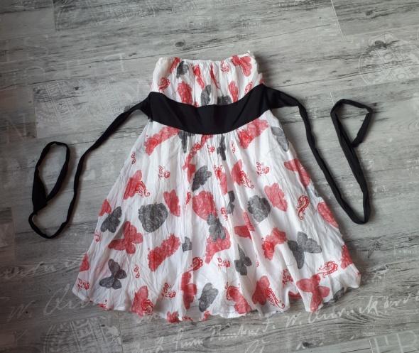 Suknie i sukienki Dziewczęca sukienka ORSAY w motyle rozmiar 38