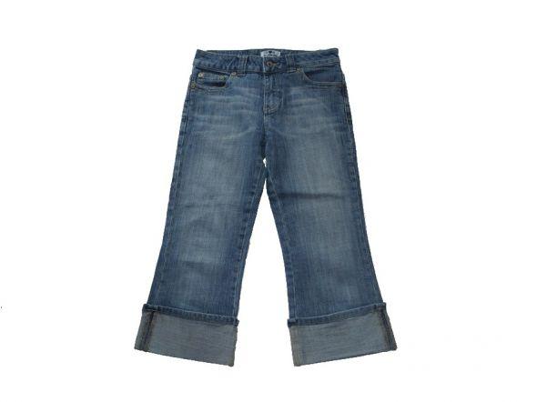 Spodnie jeans rybaczki 140 146