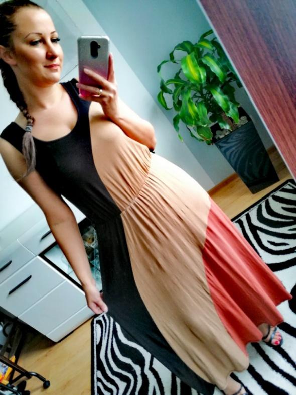 Długa sukienka maxi Atmosphere 40 L lato wiskoza