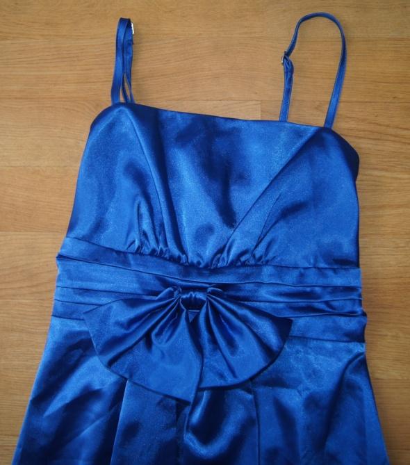 Sukienka damska chabrowa wizytowa rozm 34 XS