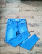 Modne rurki Jeans wysoki stan M Amisu...