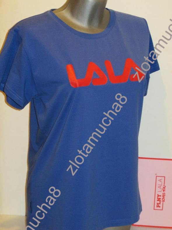 PLNY LALA koszulka LA LALA Classic Deep Blue Tee