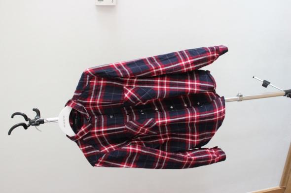 Czerwono granatowa koszula na napy Reserved...