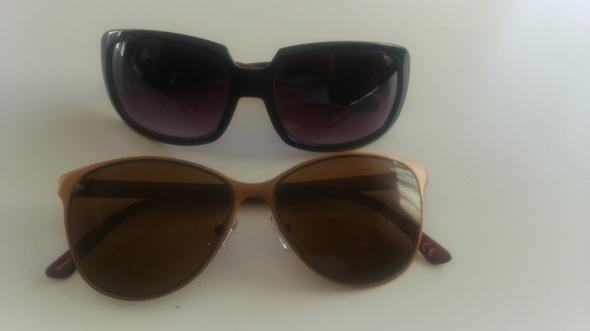 Okulary przeciwsłoneczne damskie 2 szt