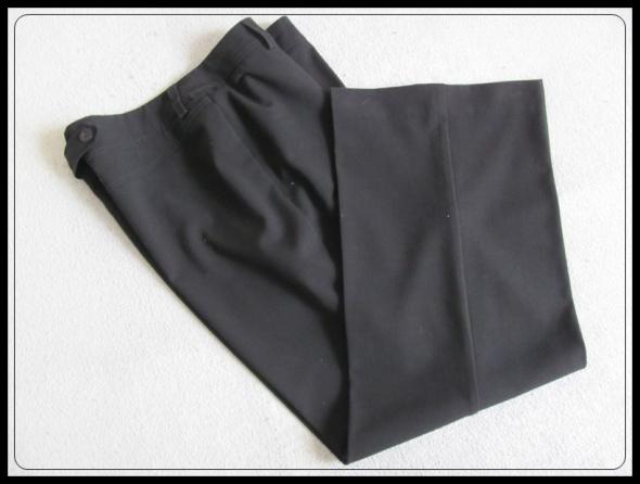 spodnie na kant eleganckie dla niższej pani 40 L