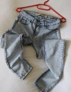 cienkie letnie rurki jeansowe zara 34...