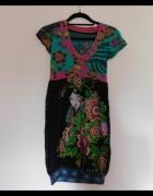 Desigual kolorowa sukieneczka 36 34...
