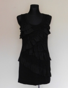 Alba Moda czarna sukienka mini 42...