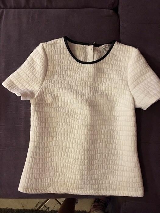 Nowa pikowana bluzka zamek zip 34 XS Marks&Spencer...