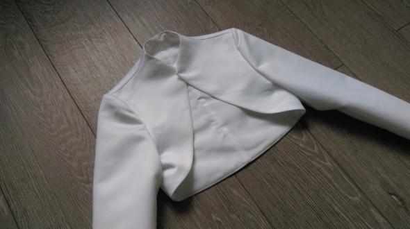 Bolerko białe do sukni ślubnej XS S