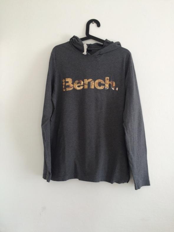 szara bluza bench kaptur...