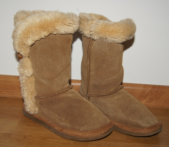 Botki buty ocieplane kozaki dziewczynka gratis