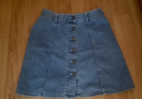Spódnica trapezowa jeans