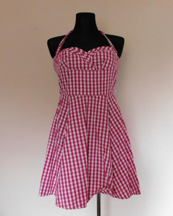 Amisu sexy sukienka kratka różowa 36...